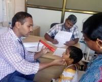 Malnutrition children check up at hospital