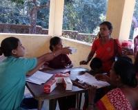 Malnutrition children screening camp at field 3