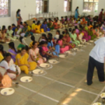Provide a days meal for 40 poor patients