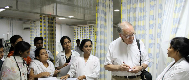 walawalkar hospital professor david warrel